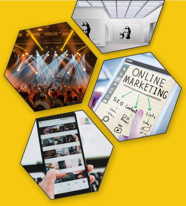 marketing digital, comunicación y eventos