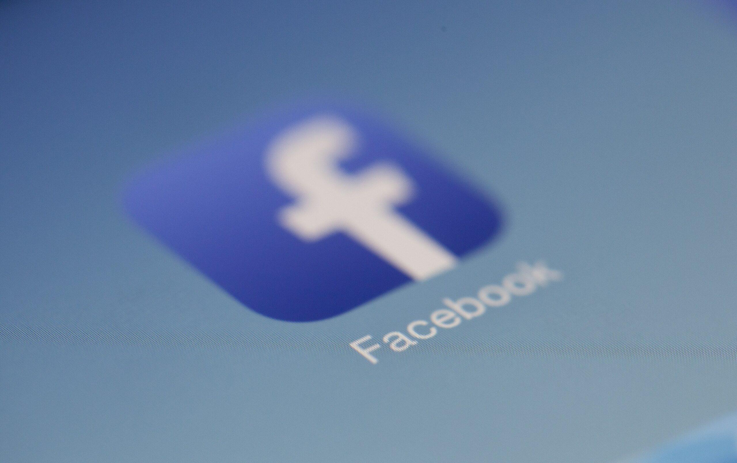 Icono de Facebook. Plataforma digital de Facebook Ads.